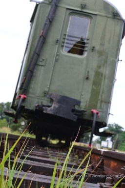 wagon kolejki w Sułowie