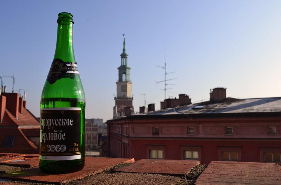 Ruski szampan zamiast pyr. Gala Rowertouru i after party w Poznaniu