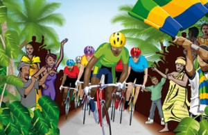 grafika z La Tropicale Amissa Bongo