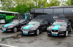 flota samochodowa Team Sky