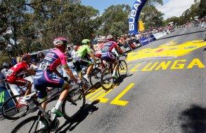 kolarze na Willunga Hill