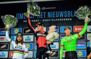 Greg van Avermaet triumfuje w Omloop Het Nieuwsblad