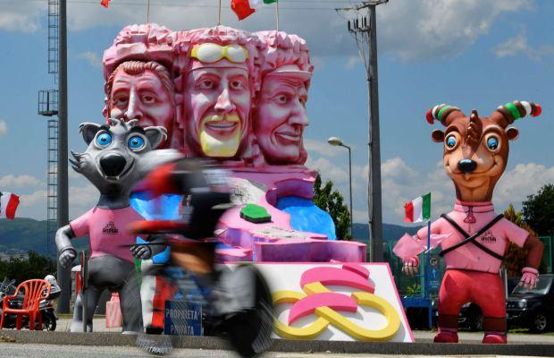 migawka z Giro d'Italia