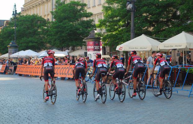 kolarze grupy Domin Sport
