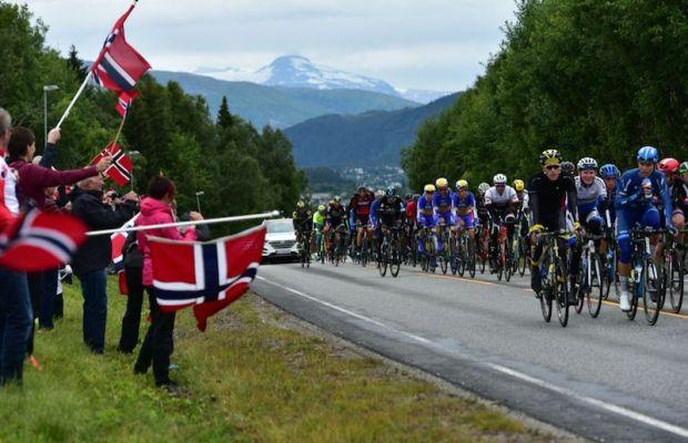 Arctic Tour of Norway 2016 kibice