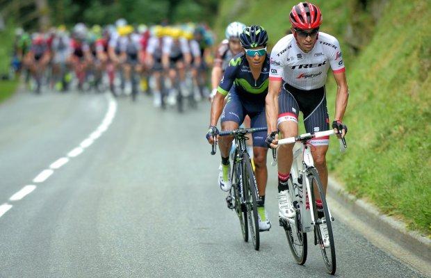 Alberto Contador w akcji