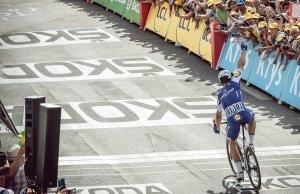 Marcel Kittel przecina linię mety