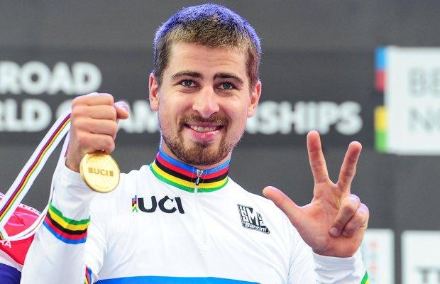 Peter Sagan z medalem MŚ
