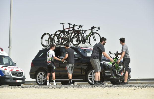 Mark Cavendish opuszcza trasę Abu Dhabi Tour