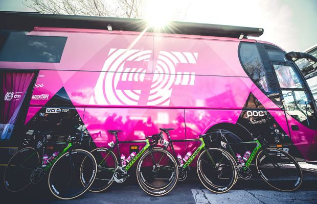 autobus grupy EF Education-Drapac
