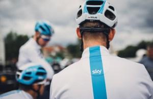 kolarze Team Sky