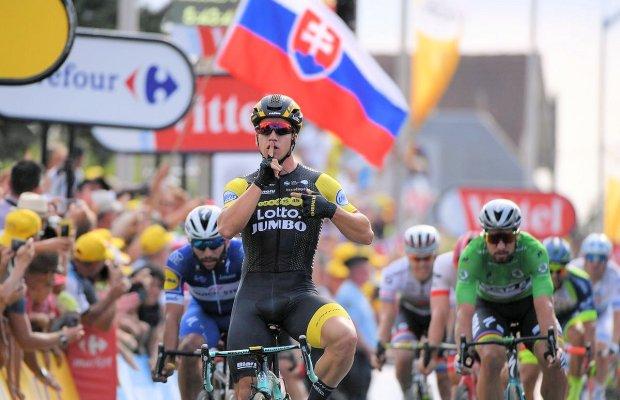 Dylan Groenewegen wygrywa 7. etap Tour de France