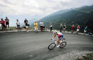 Arnaud Demare na Col du Portet