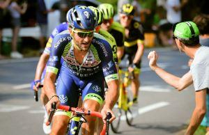 Guillaume Van Keirsbulck na trasie Tour de France