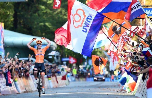 Anna van der Breggen finiszuje po tytuł mistrzyni świata