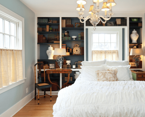 Accent Colour In The Bedroom