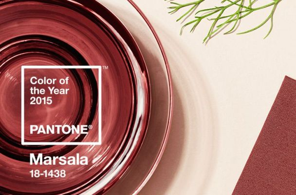 Pantone Colour Of The Year 2015 MARSALA