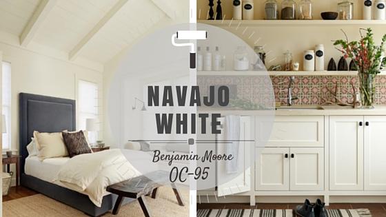COLOR SPOTLIGHT - Benjamin Moore Navajo White