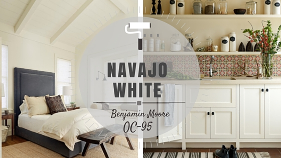 Color Spotlight Benjamin Moore Navajo White Rowe
