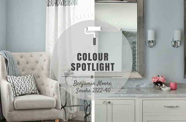 COLOR SPOTLIGHT - Benjamin Moore Smoke