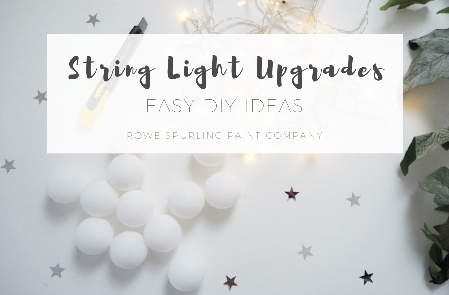 Christmas String Light DIY Upgrades