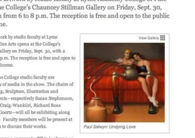 Exhibit Press Release Page