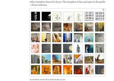 Exhibit Thumbnails Page
