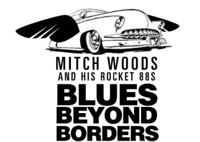 Blues Beyond Borders package branding | putting the car in flight