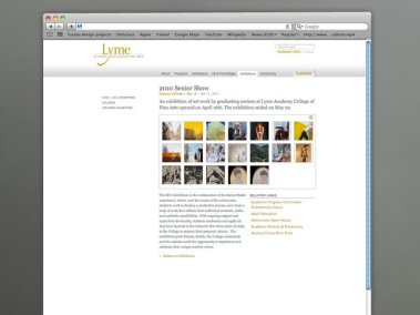 Lyme Academy Gallery Page