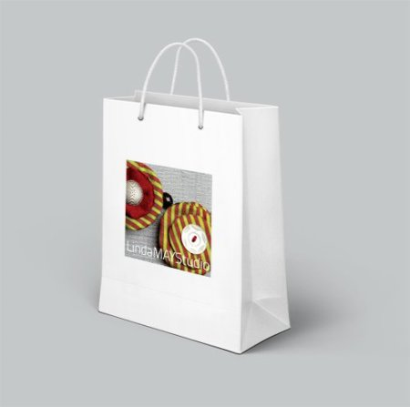 Linda May shopping bag