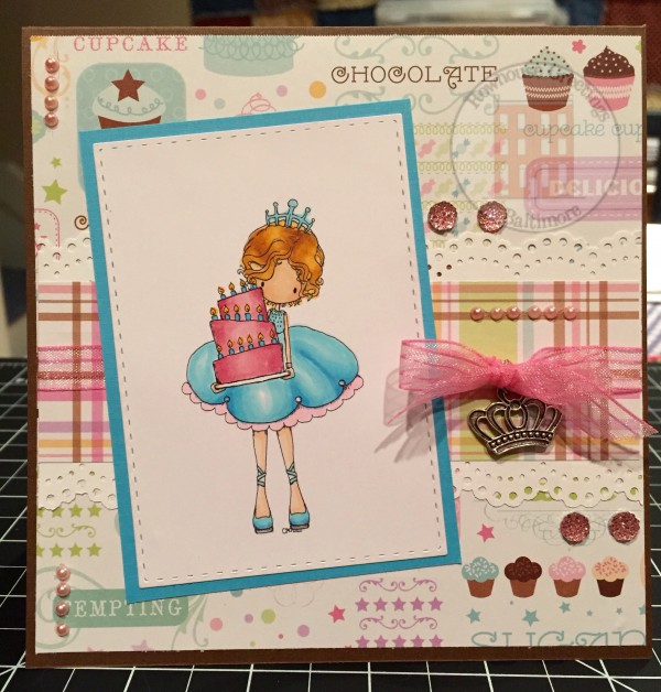 Rowhouse Greetings   Birthday card   Let Us Eat Cake by Tiddly Inks