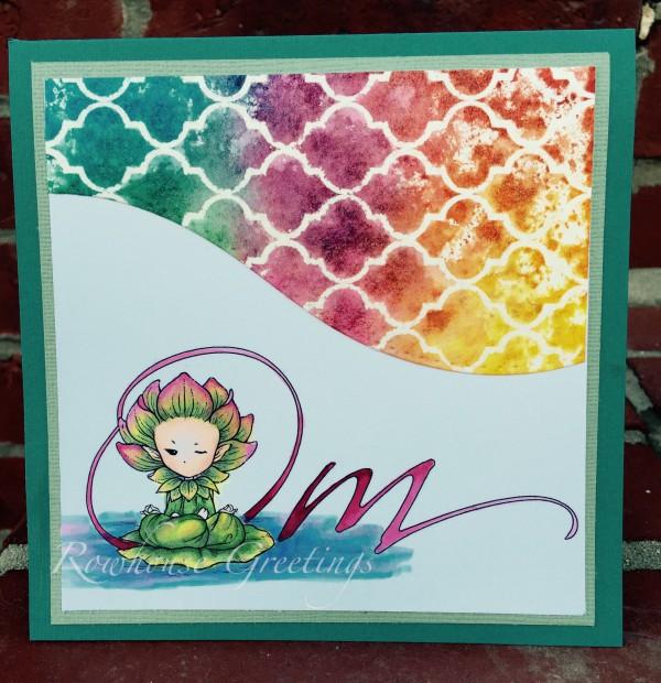 Rowhouse Greetings | Notecards | Lotus Sprite by Aurora Wings