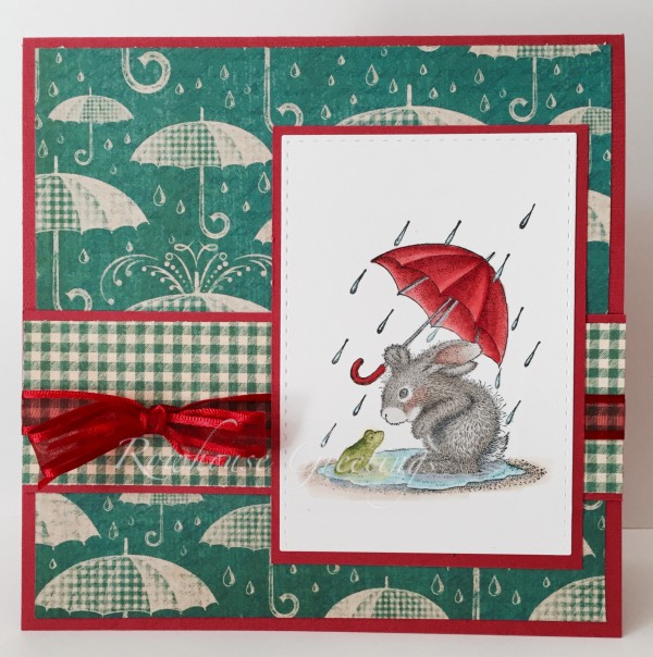 Rowhouse Greetings | Notecard | Puddle Love by House Mouse Designs
