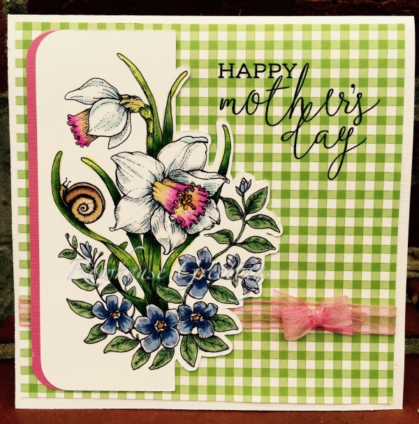 Rowhouse Greetings | Mother's Day | Dancing With Daffodils by Power Poppy