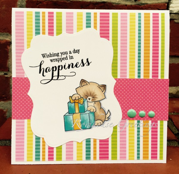 Rowhouse Greetings | Happy Birthday | Newton's Birthday Bash by Newton's Nook Designs