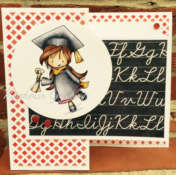 Rowhouse Greetings | Graduation | Go Great Places by Tiddly Inks