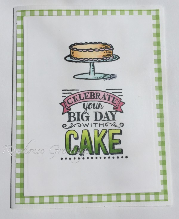 Rowhouse Greetings   Birthday   Big Day by Stampin' Up!