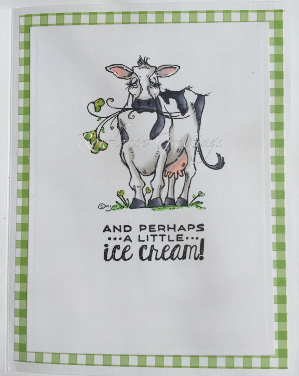 Rowhouse Greetings   Birthday   Moo by Mo's Digital Pencil and Big Day by Stampin' Up!