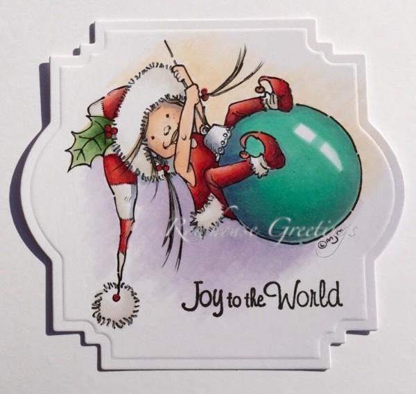 Rowhouse Greetings | Christmas | Little Elf Mim by Mo's Digital Pencil
