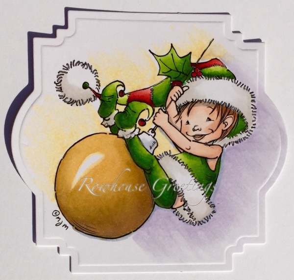 Rowhouse Greetings | Christmas | Little Elf Finn by Mo's Digital Pencil
