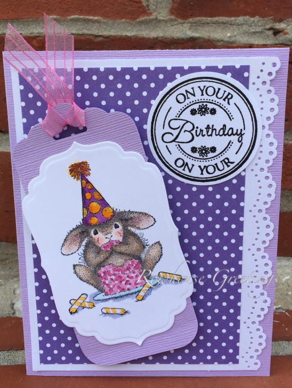 Rowhouse Greetings | Birthday | Cake Nibbler by House Mouse Designs