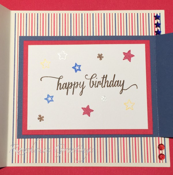 Star Spangled Birthday - Rowhouse Greetings