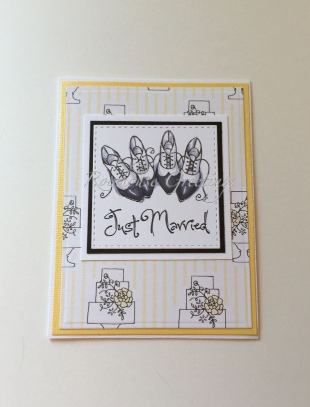 Rowhouse Greetings | Same Sex Wedding | Grooms' Shoes by Mo's Digital Pencil