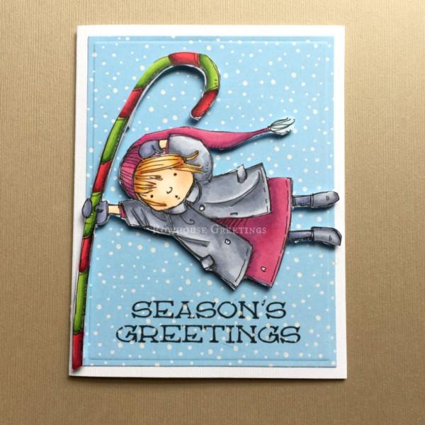 Rowhouse Greetings | Christmas | Season's Greetings by Mo's Digital Pencil
