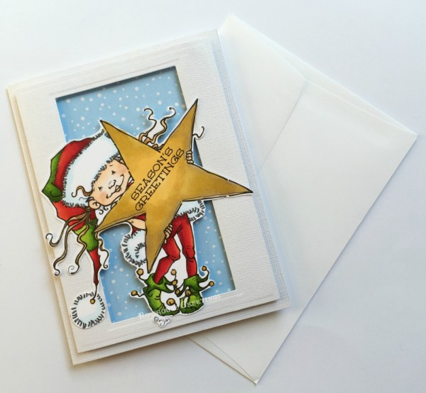 Rowhouse Greetings | Christmas | Little Elf Kit by Mo's Digital Pencil