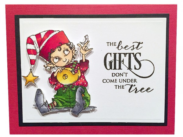 Rowhouse Greetings | Christmas | Santa's Little Helper by Mo's Digital Pencil