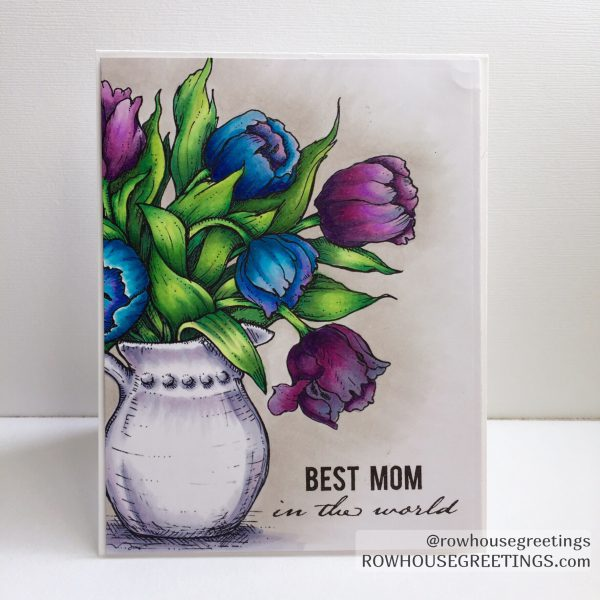 Rowhouse Greetings | Mother's Day | Power Poppy