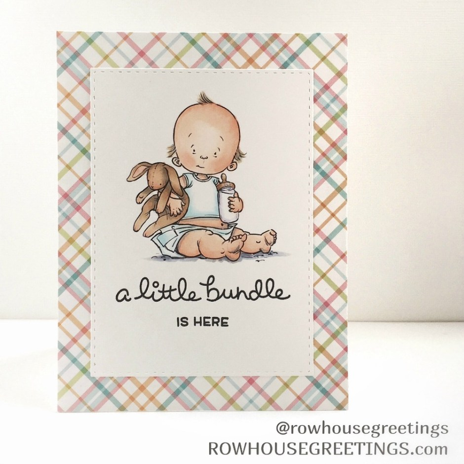 Rowhouse Greetings | New Baby