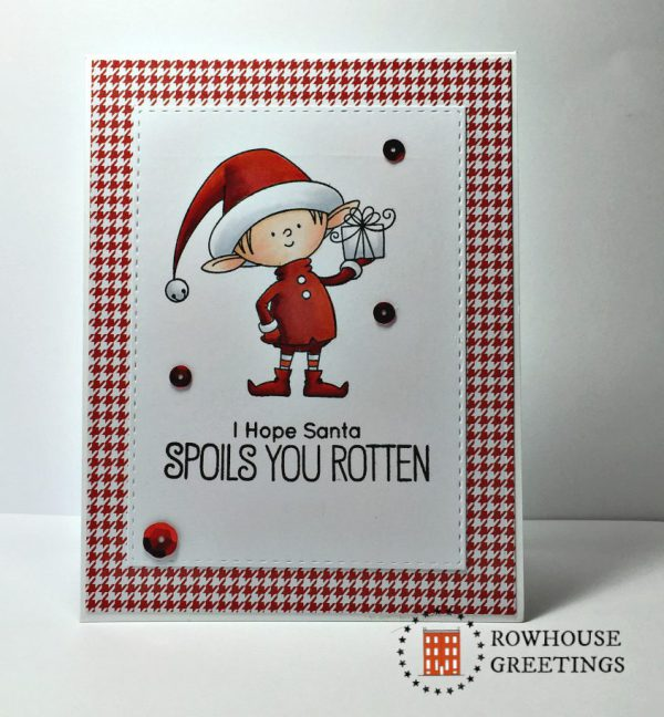 Rowhouse Greetings | Christmas | Santa's Elves by My Favorite Things