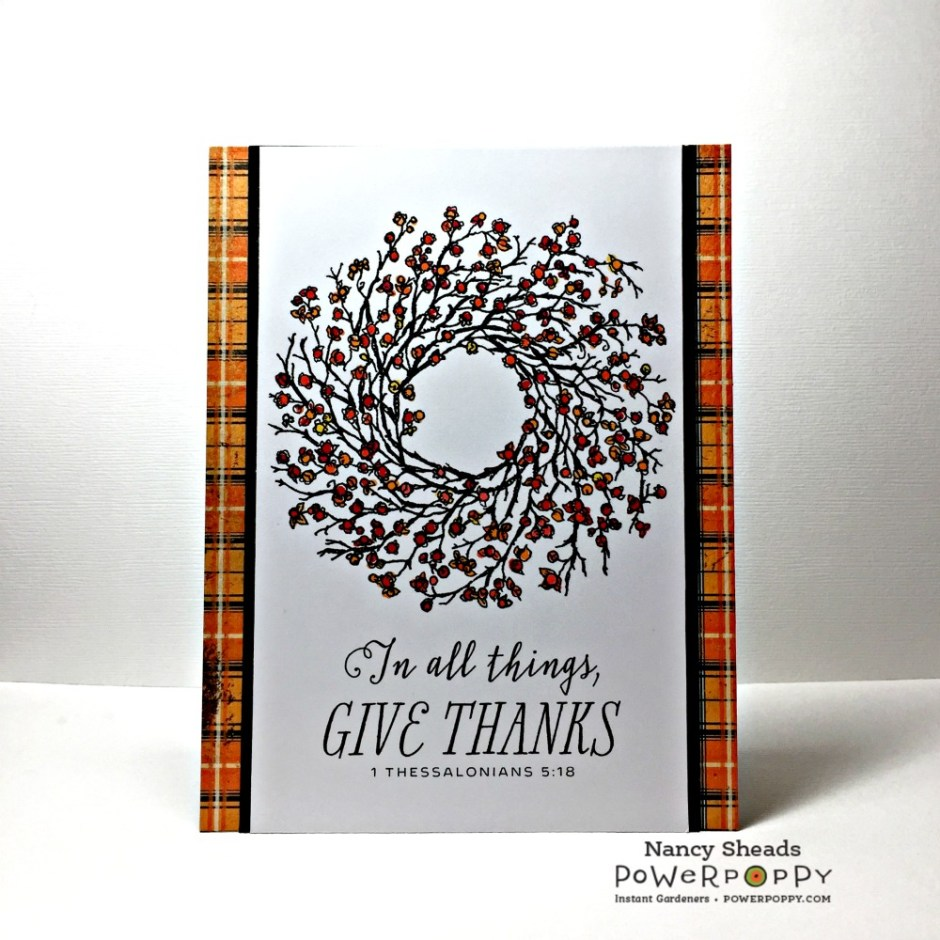 Rowhouse Greetings | Autumn | Bittersweet Wreath by Power Poppy